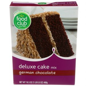 German Chocolate Deluxe Cake Mix