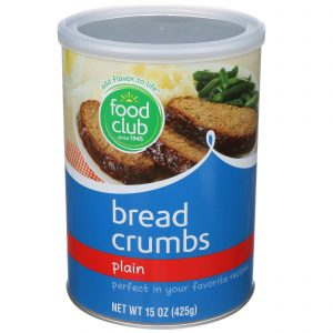 Bread Crumbs, Plain