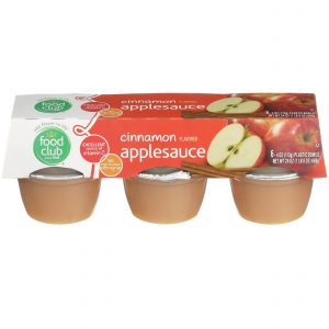 Applesauce, Cinnamon Flavored
