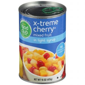 X-Treme Cherry Mixed Fruit In Light Syrup