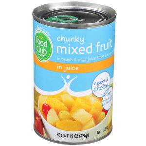 Chunky Mixed Fruit in Juice
