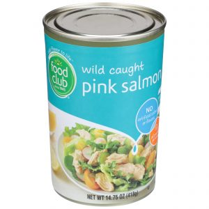 Wild Caught Pink Salmon