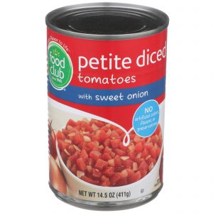 Diced Tomatoes With Sweet Onion, Petite