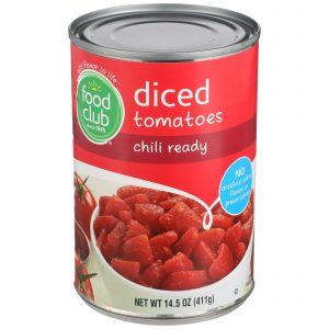 Diced Tomatoes, Chili Ready