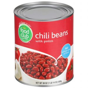 Chili Beans With Pintos