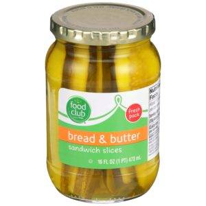 Bread & Butter Pickles, Sandwich Slices