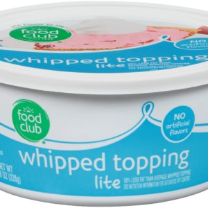 Whipped Topping, Lite