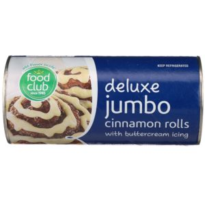 Deluxe Jumbo Cinnamon Rolls With Buttercream Icing
