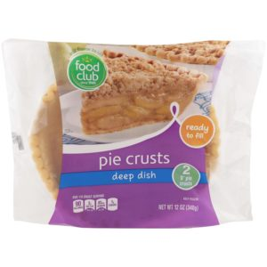 Pie Crusts, Deep Dish