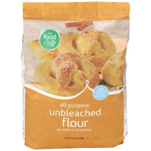 All-Purpose Unbleached Flour, Enriched & Presifted