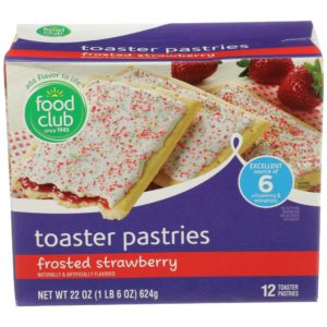 Frosted Strawberry Toaster Pastries