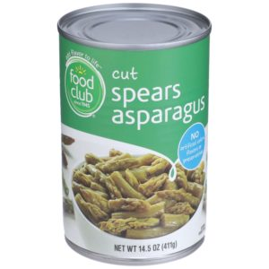 Cut Asparagus Spears