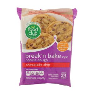 Break'N Bake Style Cookie Dough, Chocolate Chip
