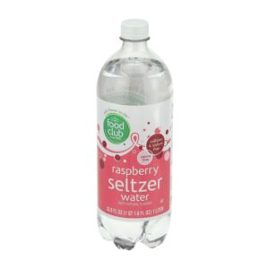 Raspberry Seltzer Water