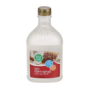 Light Corn Syrup With Real Vanilla