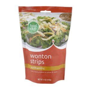 Authentic Wonton Strips