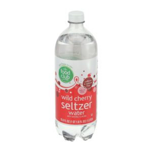 Wild Cherry Seltzer Water