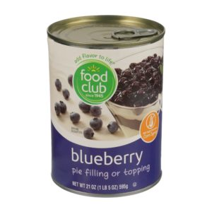 Blueberry Pie Filling Or Topping