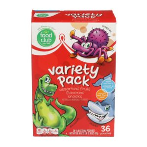 Fruit Snacks - Variety Pack, Assorted