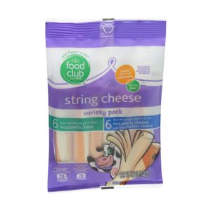 String Cheese Variety Pack, Low-Moisture