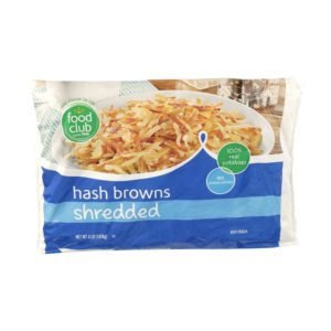 Hash Browns, Shredded