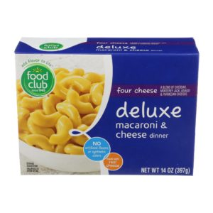 Four Cheese Deluxe Macaroni & Cheese Dinner
