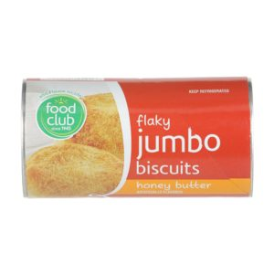 Flaky Jumbo Biscuits, Honey Butter