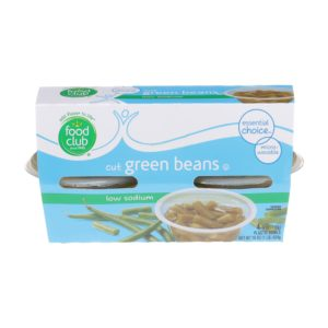 Cut Green Beans - Low Sodium