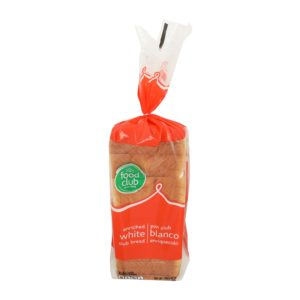 White Club Bread, Enriched