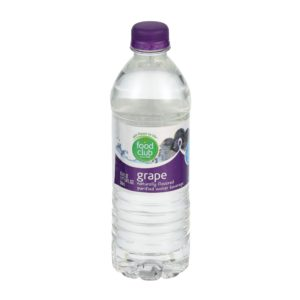 Grape Purified Water Beverage