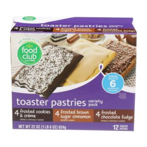 Toaster Pastries Variety Pack
