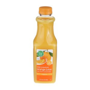 100% Premium Orange Juice - Original, No Pulp