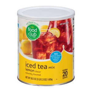 Iced Tea Mix, Lemon Flavor