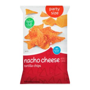 Nacho Cheese Tortilla Chips, Party Size