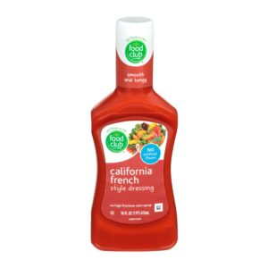 California French Style Dressing