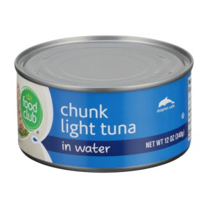 Chunk Light Tuna In Water