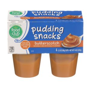 Butterscotch Pudding Snacks