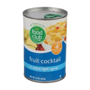 Fruit Cocktail In Extra Light Syrup