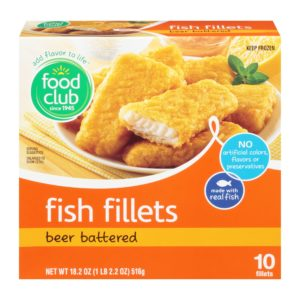 Beer Battered Fish Fillets