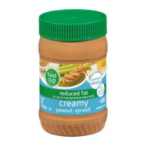 Creamy Peanut Butter Spread - Reduced Fat