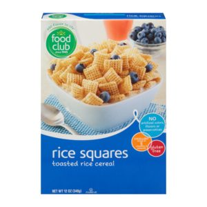 Rice Squares Cereal
