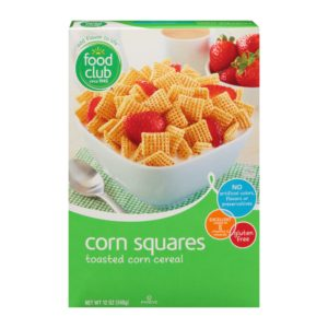 Corn Squares Cereal