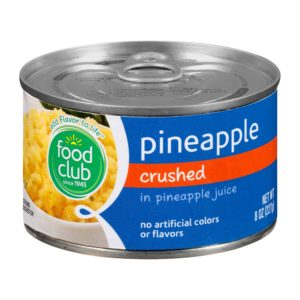 Pineapple, Crushed, In Pineapple Juice