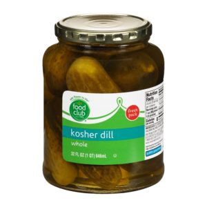 Kosher Dill, Whole