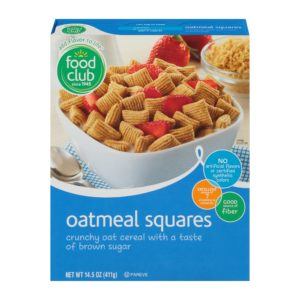 Oatmeal Squares Cereal