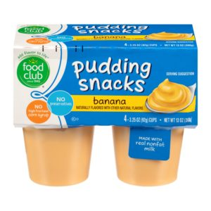 Banana Pudding Snacks