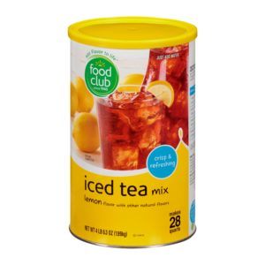 Lemon Iced Tea Mix