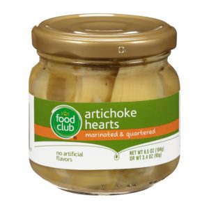 Artichoke Hearts, Marinated & Quartered