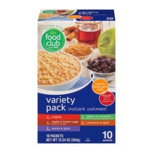 Variety Pack Instant Oatmeal
