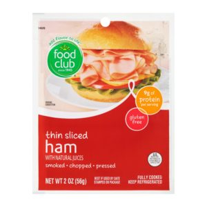 Ham, Thin Sliced